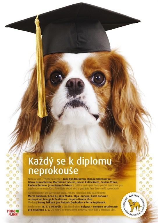 Helppes-Super-Den.jpg - Vystoupení Olgy Lounové na akci pro Centrum výcviku psů pro postižené - Helppes